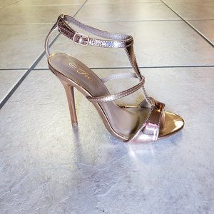 Rose Gold Stiletto